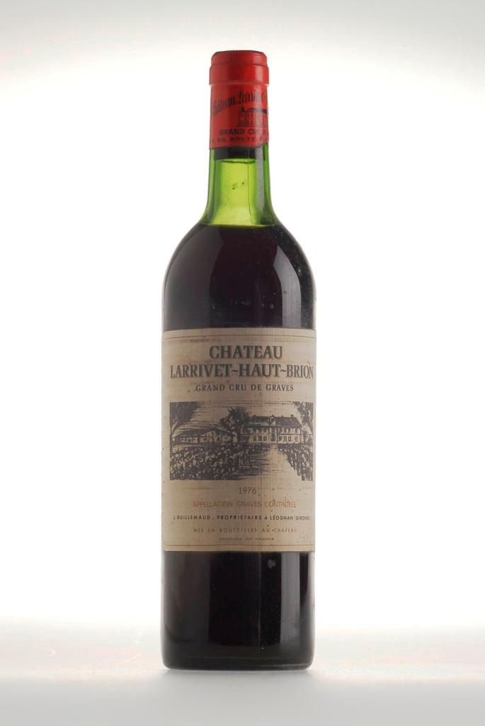 196. Chateau Larrivet-Haut-Brion Graves 1976