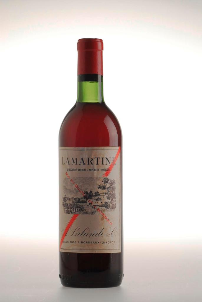 347. Lamartine A. lalande & Co. Appelation Bordeaux Superieur Co