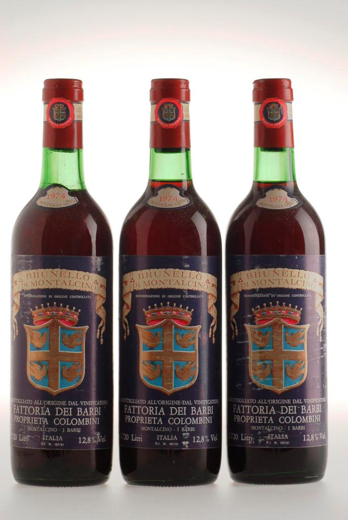 357. Brunello di Montalcino Fattoria dei Barbi Proprieta Colombi