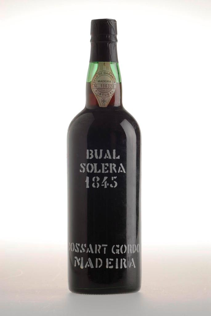 367. Cossart Gordon Bual 1845 Madeira White Wine