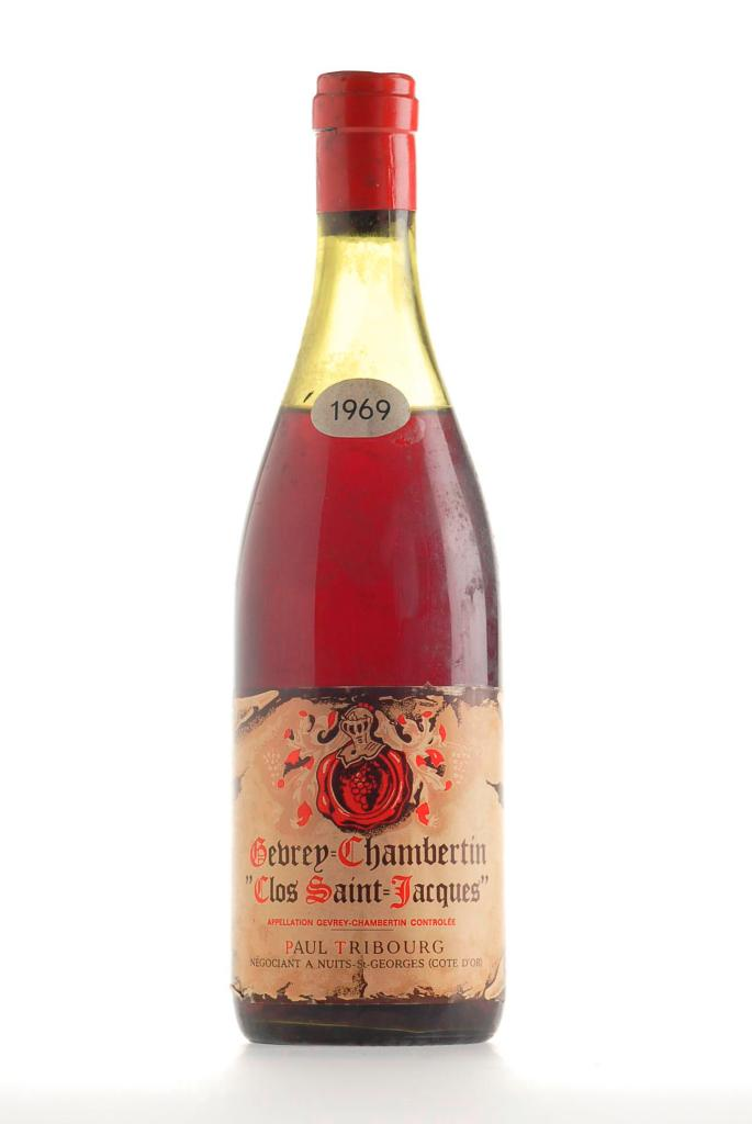 40. Gevrey Chambertin &#34Clos St. Jacques&#34 Paul Tribourg 196
